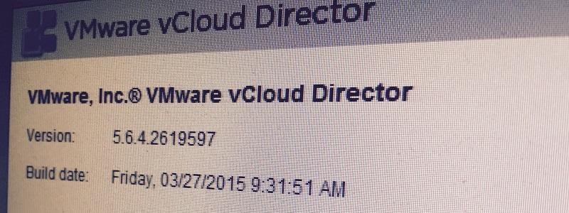 Quel avenir pour vCloud Director ?