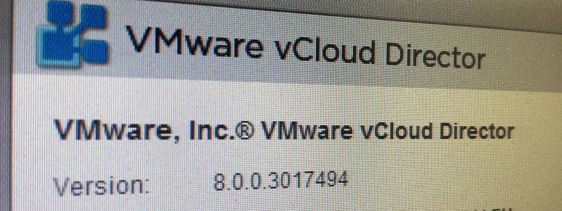 vCloud Director 8.0 for SP est disponible !
