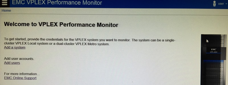 VPlex Performance Monitor 1.0