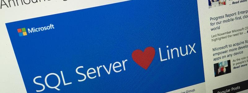 SQL Server sur Linux, ça change quoi ?