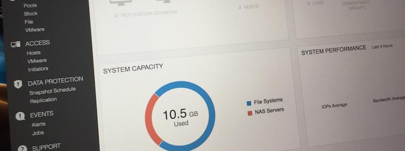 Unity VSA : installation et première impressions