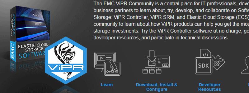 ViPR Controller 3.0 : yapluka :)