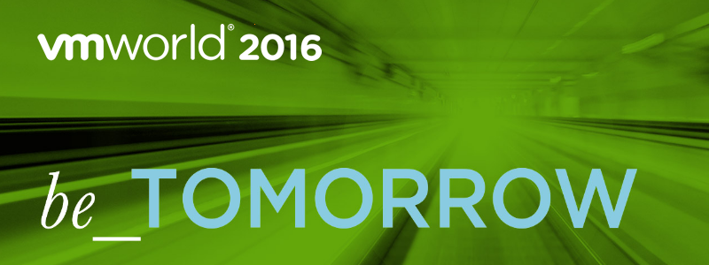 VMworld 2016 : Dell EMC, Netapp SolidFire, vSphere 6 Next etc.