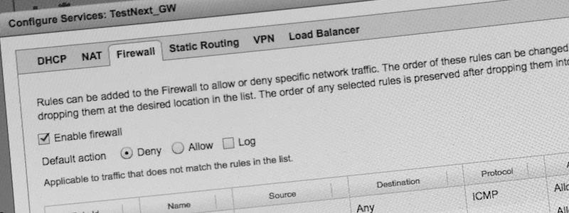 Mise à jour de vCNS vers NSX Manager : des Edge Gateways récalcitrantes