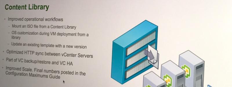 vSphere 6.5, pour nous, les administrateurs