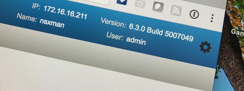 vSphere 6.5a et NSX 6.3 sont de sortie !