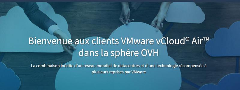 OVH rachète l'activité vCloud Air de VMware