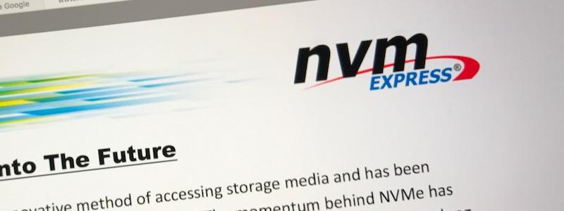 NVMe : vers l'infini et au delà !