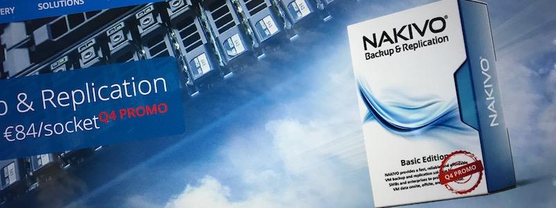 Nakivo 7.2 sur Synology : idéal pour les ROBOs