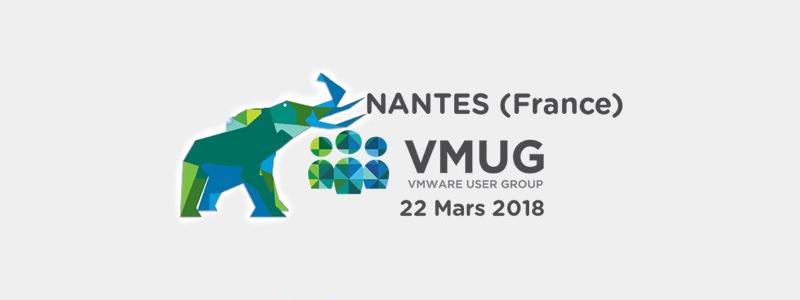 VMUG à Nantes : c'est demain !