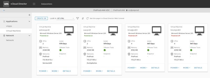 Libéré, délivré ! Migration de vCloud Director 9 vers PostgreSQL