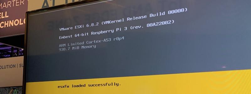 ESXi/ARM : Retour sur le portage vers Raspberry Pi