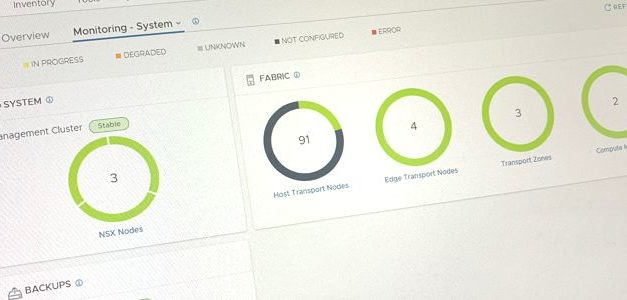 VMware NSX-T 2.5 est sorti, enfin !