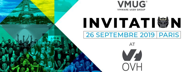 Save the date : VMUG chez OVH le 26 Septembre prochain !