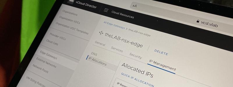 vCloud Director 10 et NSX-T (2/2) : il ne lui manque que les règles DFW …
