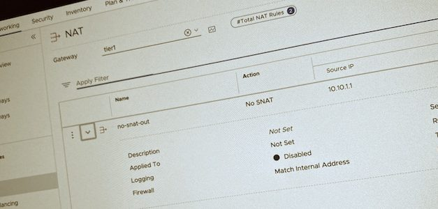 NSX-T : gérer les priorités dans vos règles de NAT