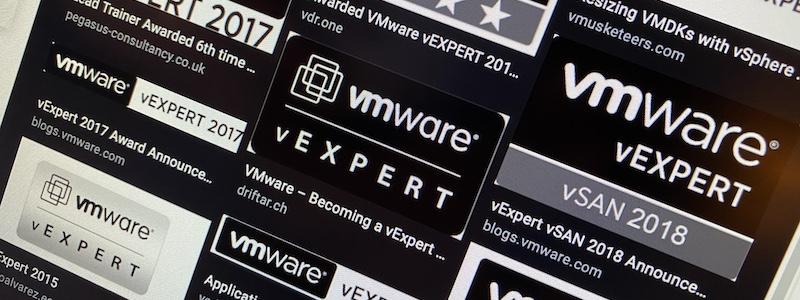 vExperts 2020 !