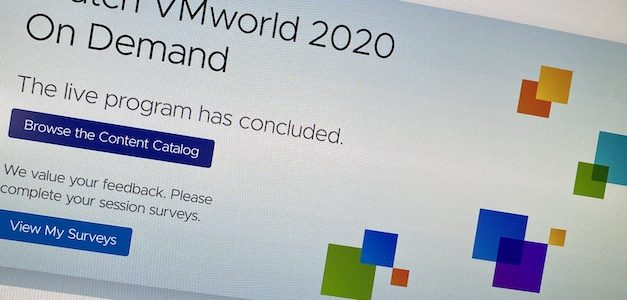 VMworld 2020 : difficile de remplacer l'IRL …